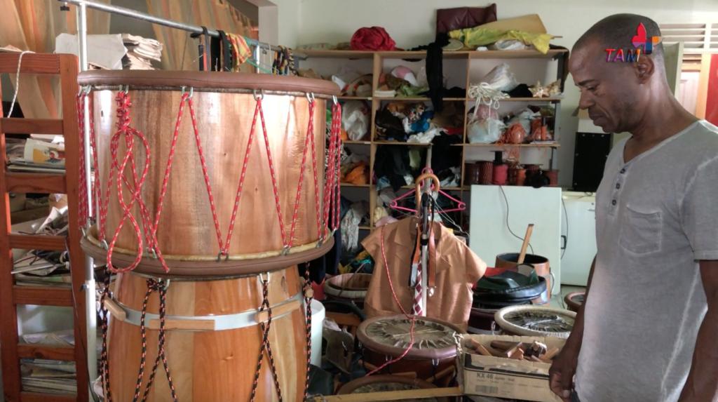 "Alain VALIER / Fabricant de tambour "" ka"""