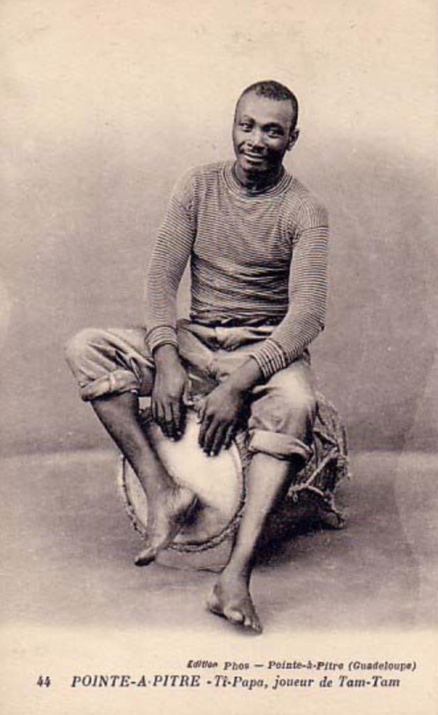 Marcel LOLLIA, tambouyé guadeloupéen