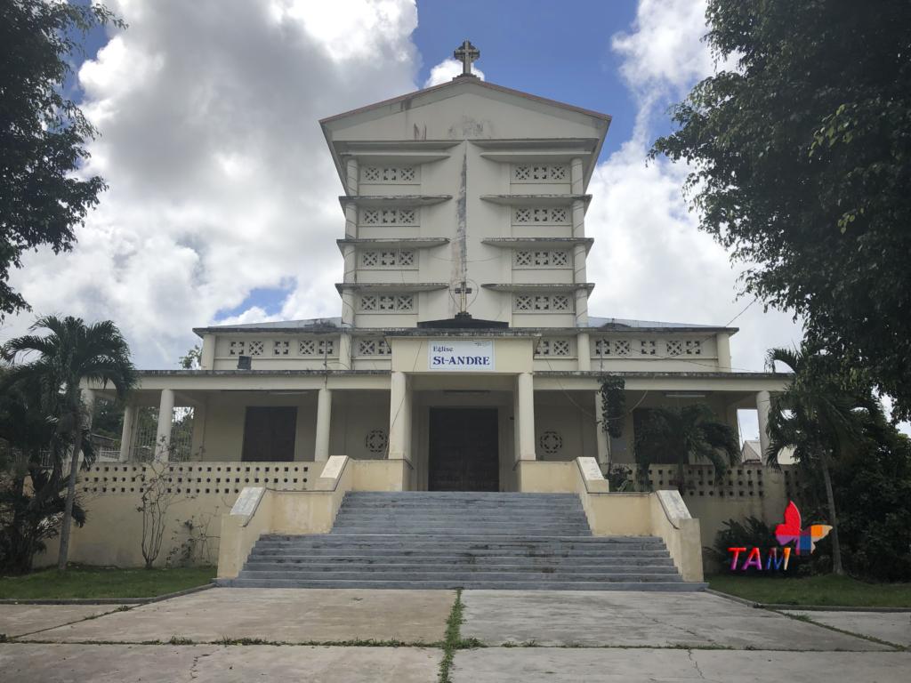 Église Saint-André de la ville de Morne-à-l'Eau