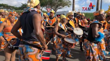 Musiciens de Double Face Guadeloupe