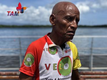 L'homme aux pantoufles - Cyclisme Guadeloupe